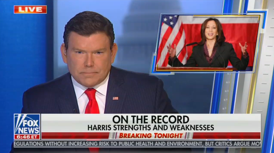 Fox News Points Out How Sen. Harris Campaigned on Radical Policies