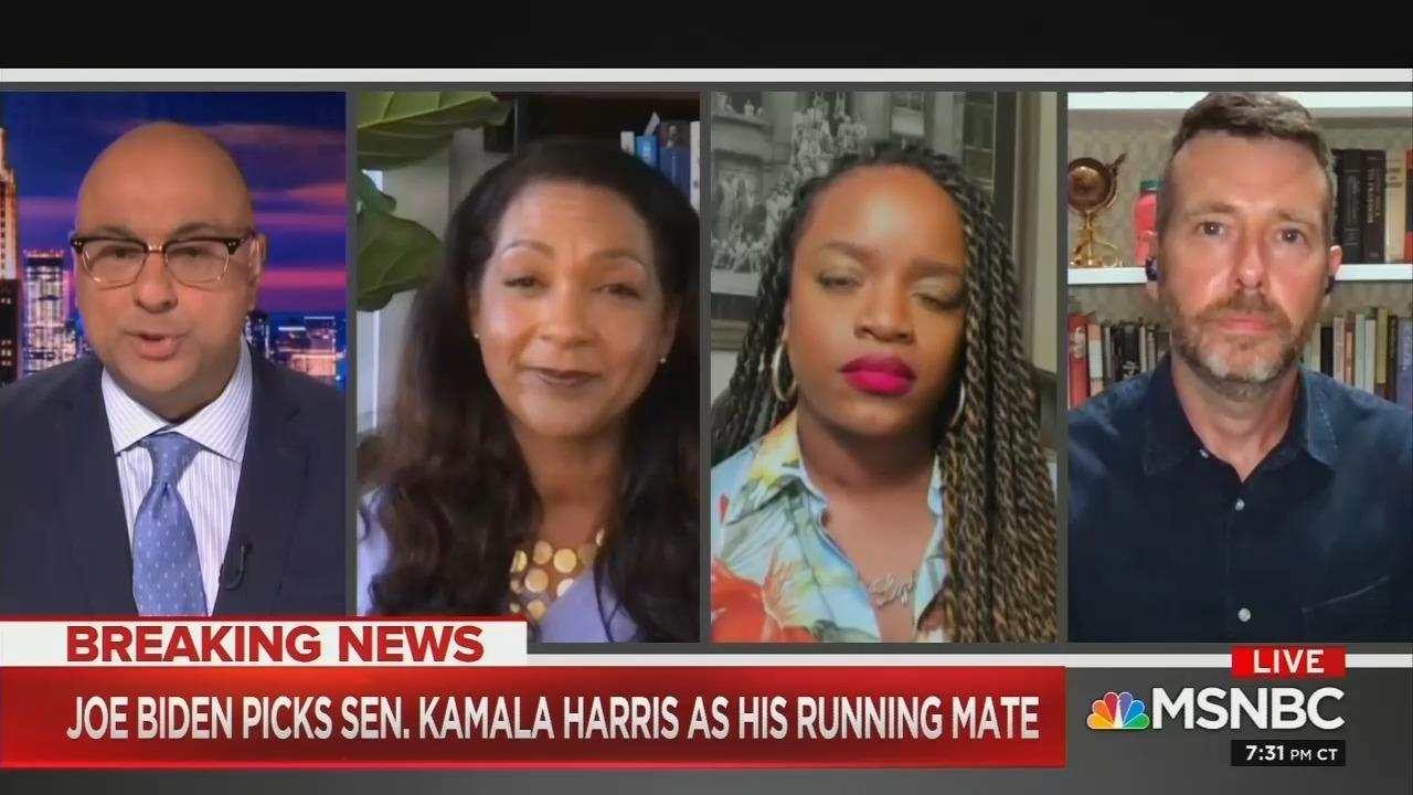 Dem Hack Velshi: No Way Trump Can Attack Biden-Harris 'Moderate Ticket'