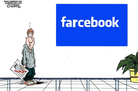 More like farcebook for Farcical novels