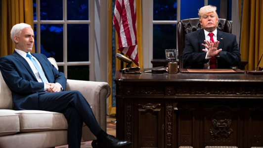 Comedy Central Debuts New Trump-Hammering 'President Show'
