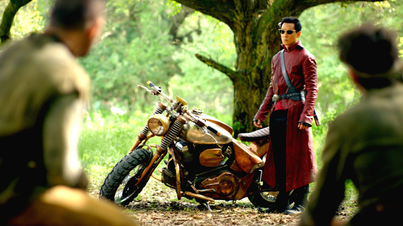 Biker Blog Season 5 Sneak Peek: AMC's 'Into The Badlands' Imagines 'a World Without Guns'
