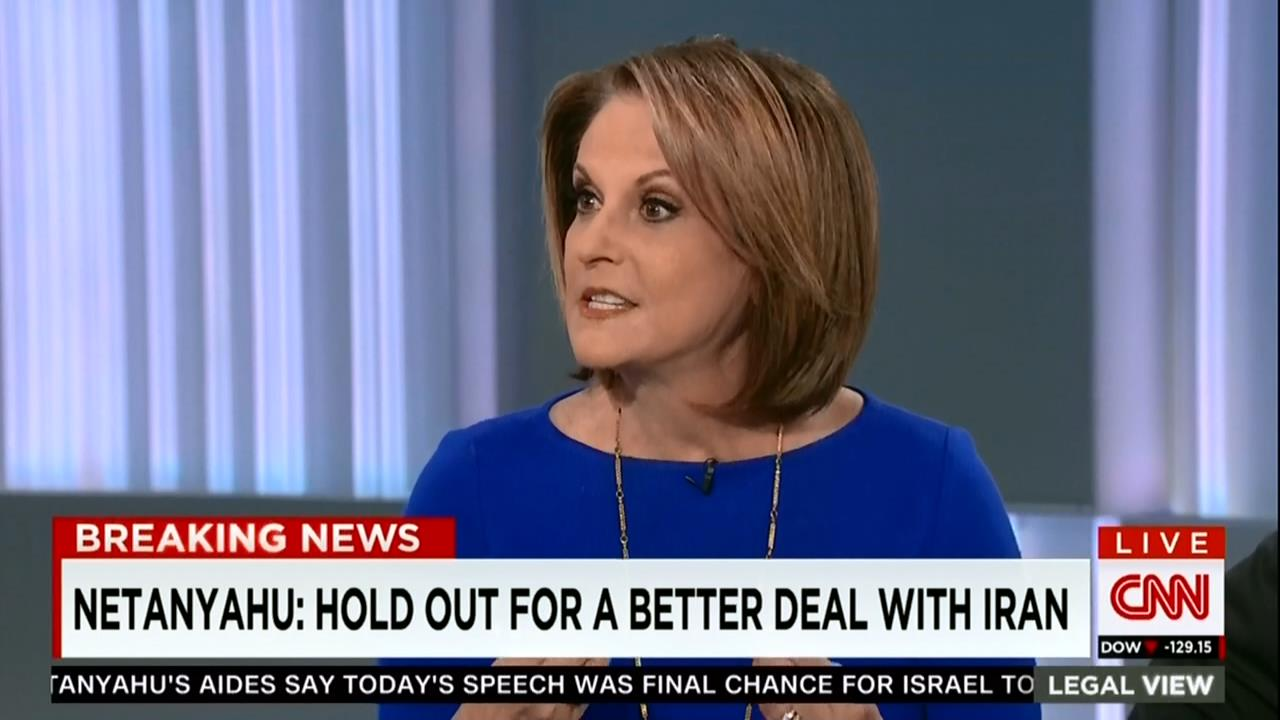 Prime time Emmy award winning journalist Gloria Borger