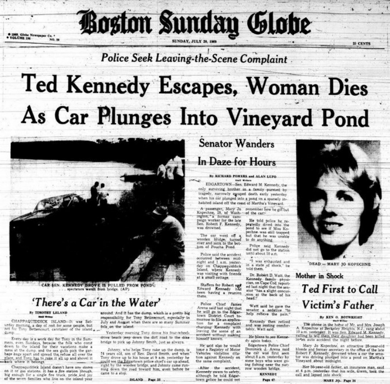 New Film To Depict What Ted Kennedy Had To Go Through At