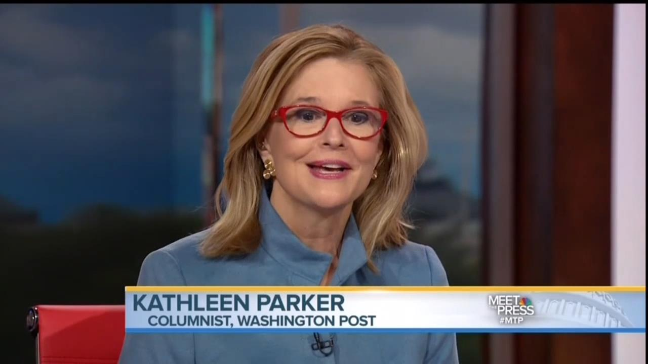 Kathleen Parker Eagerly Defends Hillary's Policy Flip-Flops