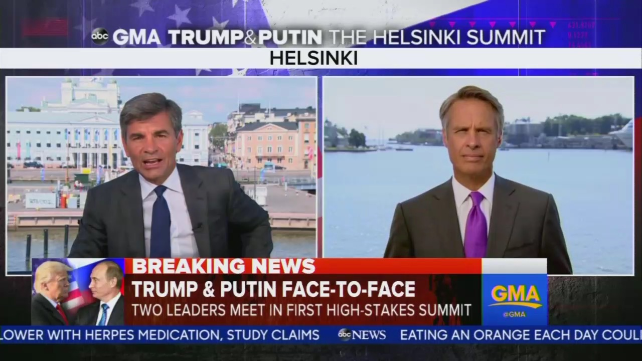 ABC Whines Trump Leaving America Vulnerable in Meeting Putin: 'America First' Means 'America Alone'