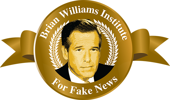 Brian Williams Institute for Fake News