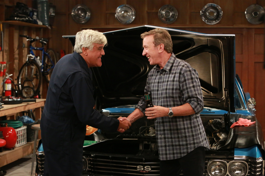 jay leno joins tim allen on obama bashing 39 last man standing 39. Black Bedroom Furniture Sets. Home Design Ideas