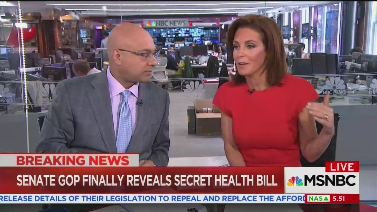 MSNBC's Ruhle: Planned Parenthood Funding Not About 'Pro-Choice vs. Pro Life'