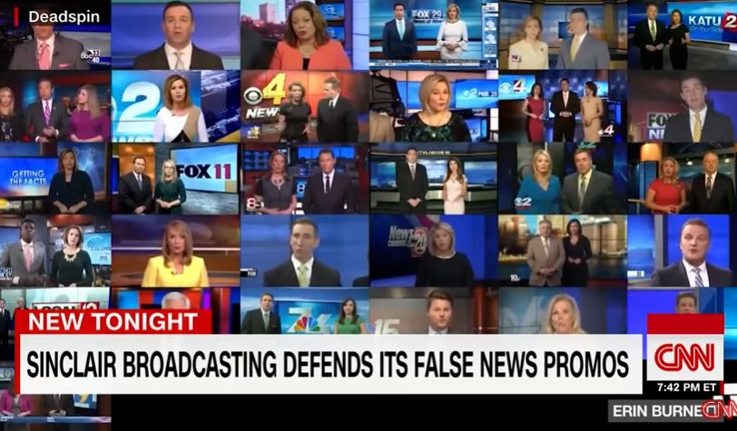 New York Times Attacks Conservative 'Fake Local News...Impostors' Like Sinclair