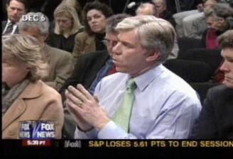 David Gregory in a White House news conference