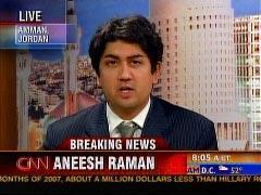 Aneesh Raman on CNN