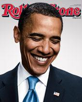 Barack Obama Cover of Rolling Stone