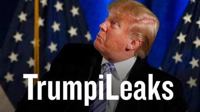 Filmmaker Michael Moore launches 'TrumpiLeaks' website for whistleblowers