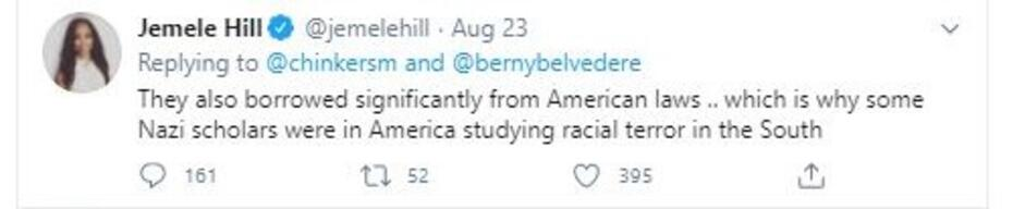 Jemele Hill Nazi tweet 3