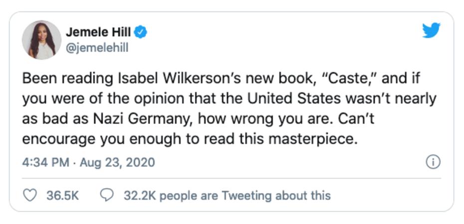 Hill Nazi Tweet