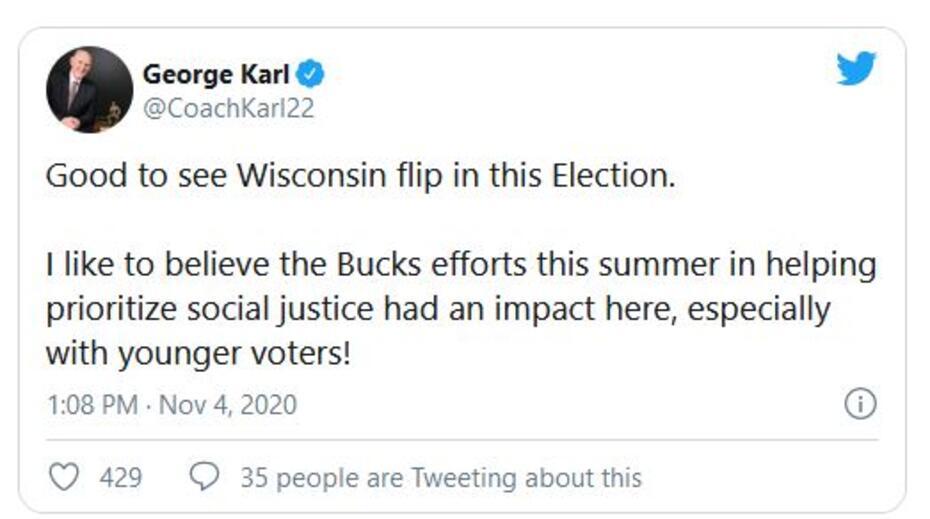 George Karl tweet