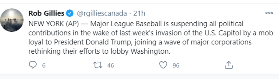 Canada AP tweet