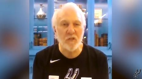 Gregg Popovich Twitter video clip