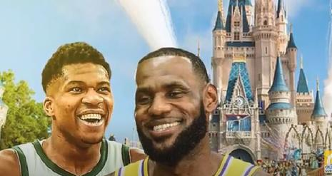 NBA at Disney