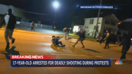 Nets LIE About Kenosha Shooting, COVER-UP Attacking Rioters