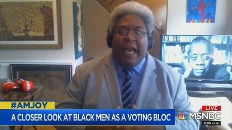 MSNBC Lauds Guest Slamming 'Trifling' White Men as 'Scrubs,' White Women as Lying Threats