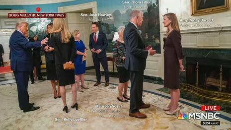 Amy Coney Barrett White House Event