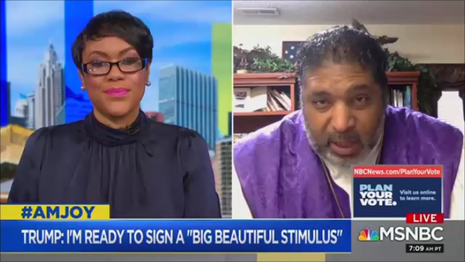 Tiffany Cross William Barber MSNBC AM Joy 10-18-20
