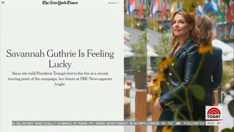 Savannah Guthrie NYT Profile