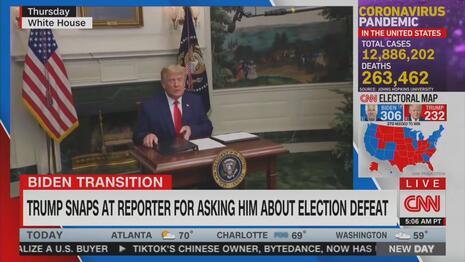 President Trump CNN New Day 11-27-20