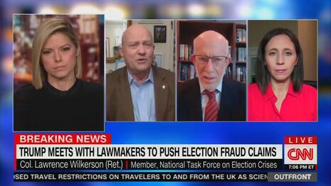 Uncontested CNN Visitor: 'There Was a Little Dishonest' to Reelect McConnell