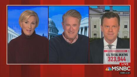 Mika Brzezinski Joe Scarborough Willie Geist MSNBC Morning Joe 12-23-20