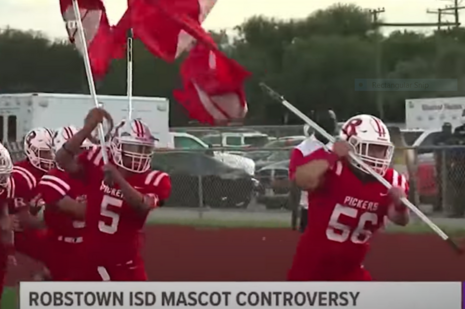 Robstown, TX mascot controversy