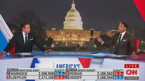 What a Slip! CNN's Cuomo Boasts 'We Won' in Georgia as Dems Lead