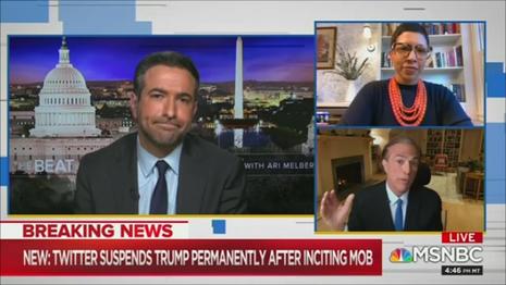 NBC Historian Beschloss: 'Do not Know If True,' However Possibly Trump Tweeted for Kickbacks