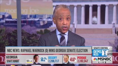 Al Sharpton MSNBC Morning Joe 1-6-21