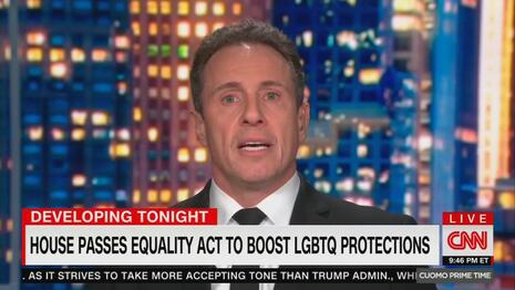 Chris Cuomo and Marie Newman