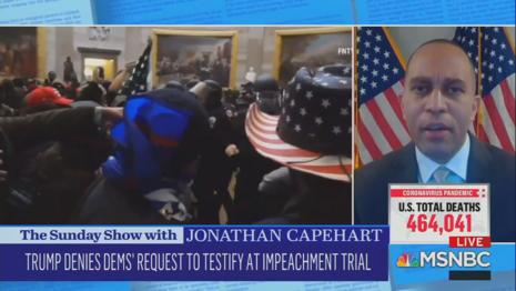Hakeem Jeffries MSNBC Sunday Show With Jonathan Capehart 2-7-21