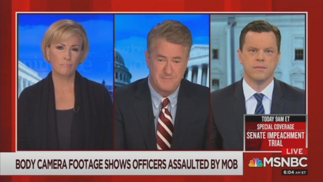 Mika Brzezinski Joe Scarborough WIllie Geist MSNBC Morning Joe 2-11-21