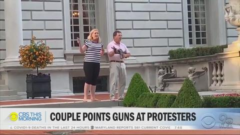 Media Misleads About 'Peaceful' BLM Mob Harassing Armed St. Louis Couple