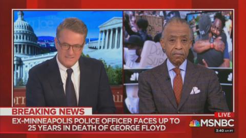 Scarborough Declares Asian - American Cop at George Floyd Scene  White