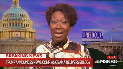 Joy Reid: Obama Was Like 'Batman' Giving an American 'Treatise' to Stop Trump, the 'Joker'