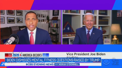 ABC/NBC Cover-Up Biden Asking Black Journo 'Are You a Junkie?,' CBS Edits Vid