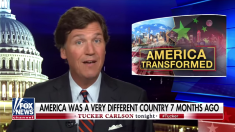 NY Times Attacks Fox News, Tucker on Front; MSNBC Nuts, Bigots Get a Pass
