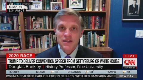 CNN's Brinkley: Trump Speaking Would 'Denigrate' Gettysburg