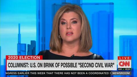 CNN Meltdown: Civil War Unless Joe Biden Wins