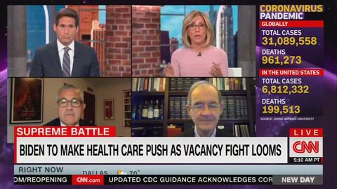 CNN FREAK OUT: Preemptively Hyping Trump Court Pick as Extreme