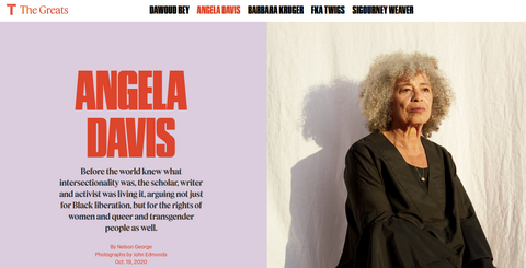 Sick Joke: NY Times Hails Communist Angela Davis as Criminal Justice Reformer
