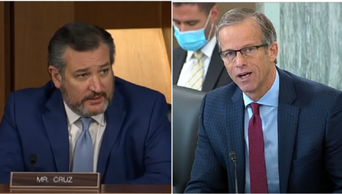 Senators Wicker, Cruz, Thune SLAM Google, Facebook, Twitter at Censorship Hearing