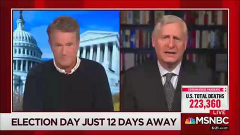 Morning Joe: Those Pro-Trump Rubes Believe Hunter Biden Stories -- We Know Better
