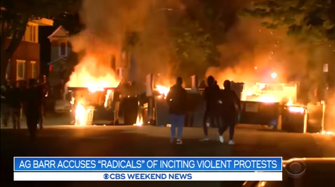 Associated Press Brags: See, No 'Leftist Radicals' Committed Protest Violence!